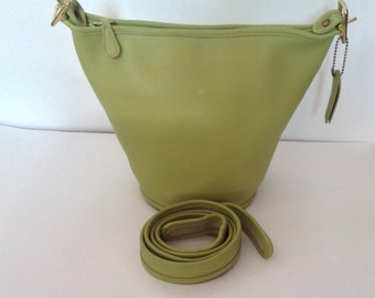 Rare Vintage Coach Maggie Duffle Cross Body /Handbag - #9019, Rare Color