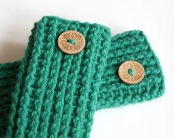 Crochet leg warmers baby, crochet baby leg warmers, green leg warmers crochet