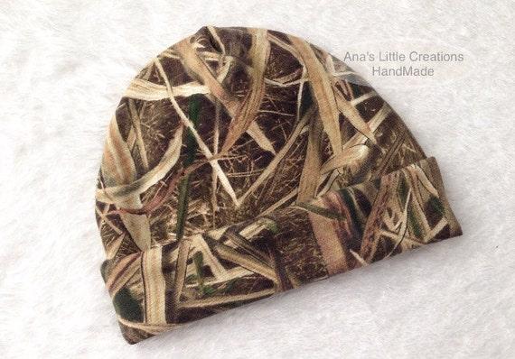 Mossy Oak Shadow Grass Blades Newborn Hat, Newborn Beanie, Take Home Hat, Hospital Hat, Custom Camo Newborn Hat, Custom Mossy Oak Beanie