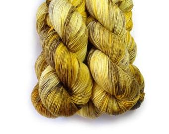 Sock Yarn Superwash Merino/Nylon 85/15 4ply Handdyed Yarn: BRONZE AGE