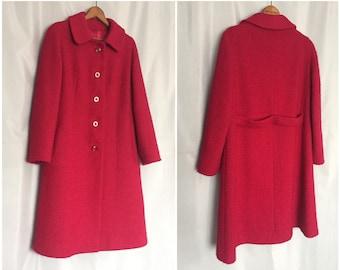 Pink coat | Etsy