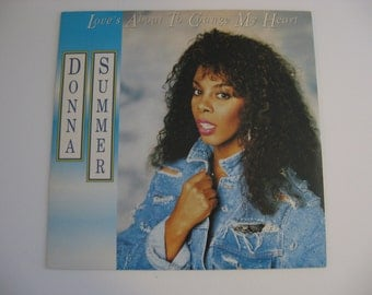 Rare Import - Donna Summer - Love's About to Change My Heart - 1989