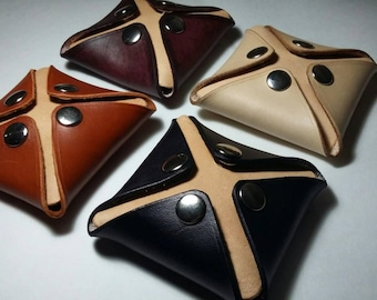 Leather 8tres purse