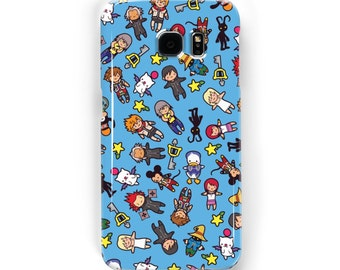 Kingdom Chibi Pattern ~ Kingdom Hearts ~ iPhone / Samsung Galaxy Phone Case Cover