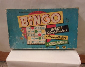 "Bingo- A Transogram ""Gold Medal"" Game"