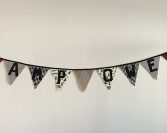 Fabric Party Banner