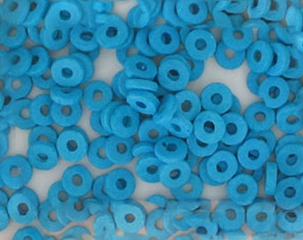 Greek Ceramic Spacer Beads, 8mm Round Design, Choice of Colors, Lot of 1,000