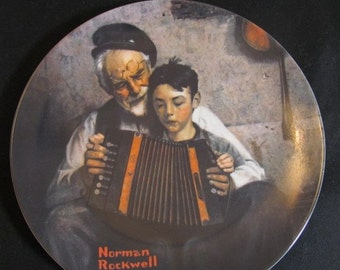 "Norman Rockwell Plates ""The Tycoon""  ""The Music Man""  ""The Ship Builder"", & more Knowles Collection Vintage 1980s CHOICE"