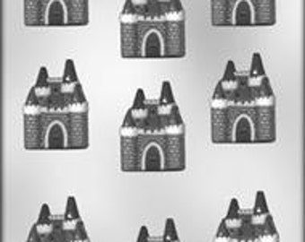 """2"""" Castle chocolate Candy Mold  Party Treats princess birthday party favors  90-13604"""