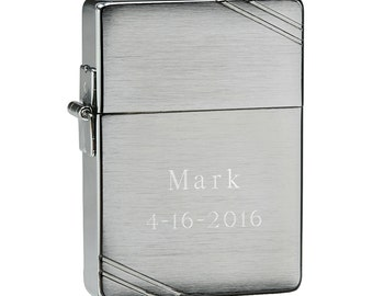 Personalized Zippo 1935 Replica Lighter - Groomsmen Gift - Best Man Gift - Fathers Day Gift