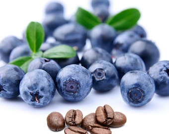 Blueberries and Cream Flavored Coffee, Fresh roasted coffee