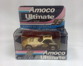 Retired Amoco Ultimate 93 Dave Blaney Car 1996 Viper GTS 1:64 Scale Die Cast Replica Dodge Motorsports Racing Champions