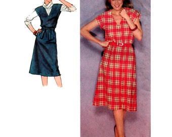 Simplicity Sewing Pattern 9423 Misses Dress, Jumper  Size:  14  Used