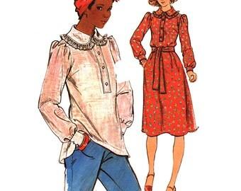 Butterick Sewing Pattern 4551 Misses' Dress, Top  Size:  10  Uncut