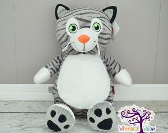 Kitty Cat Stuffed Animal Cubbie