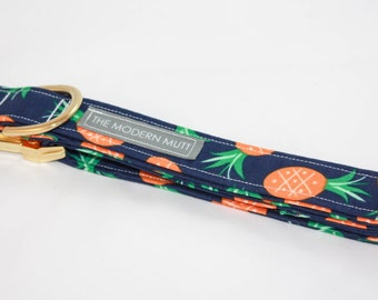 "Limited stock! Dog collar ""The Pineapple Express"""