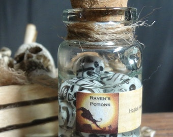 HOBBIT HEADS Dollhouse Miniature Halloween Potion - Inventory 900s
