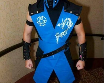Concept Sub-Zero Tunic with Belt, Hood,arm bands. Shin Guards and  Arm Guards and Mask NOT Included