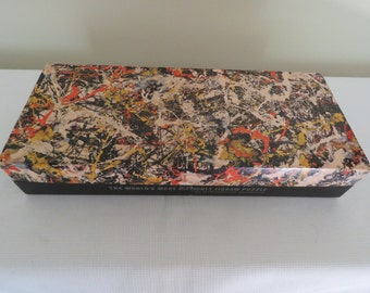 JACKSON POLLOCK Puzzle - Abstract Modern Expressionism Art CONVERGENCE Lithograph Print Included