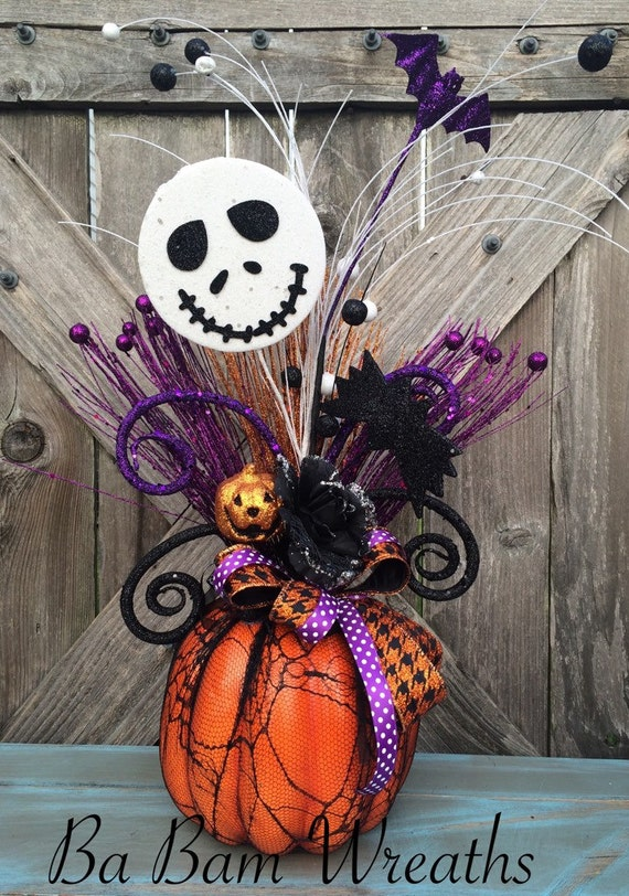 Jack skellington halloween decor nightmare before christmas - Jack skellington decorations halloween ...
