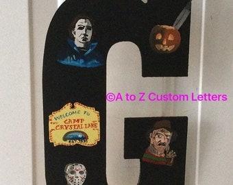 Halloween horror door hanger