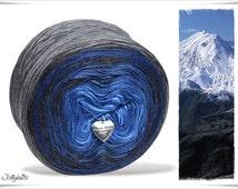 Gradient Yarn Merino Blue Mountain