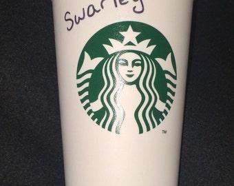 Barney Swarley Starbucks Coffee Cup