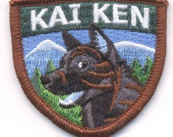 Kai Ken Embroidered patch