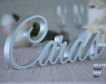 Wedding Cards Sign, Gold Wedding Cards Sign- Wedding Decoration CARDS, Sign for Wedding