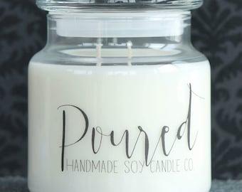 15 oz. Cinnamon Strudel Soy Candle