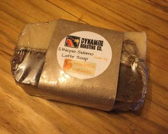 Dynamite Roasting Co.'s Latte Soap