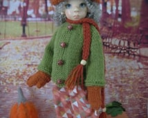 Fall Outfit For MSD Kaye Wiggs, Lasher, Macario, Bo Bergemann, Creedy and Dollstown BJD