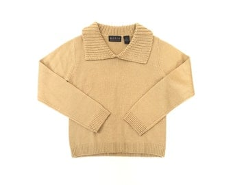 Vintage Camel Sweater