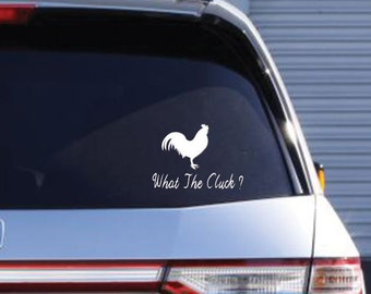 Rooster decal, car decal, laptop decal, wall decal
