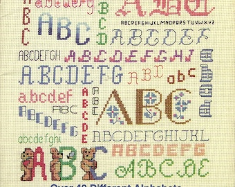 Alphabetitics Cross Stitch Book 443
