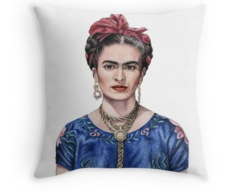 Frida Kahlo Pillow 40 x 40 cm - incl. filling