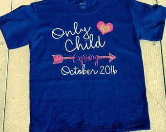 Monogrammed Expiring Child Shirt