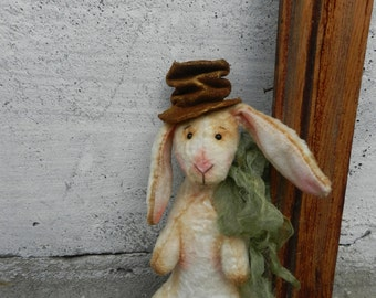 Vintage style bunny Rabbit Peter  6.3 inches