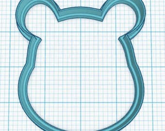 Friendly Bear Cookie Cutter Fondant Cutter