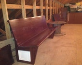 Refinished Church Pews, Benches