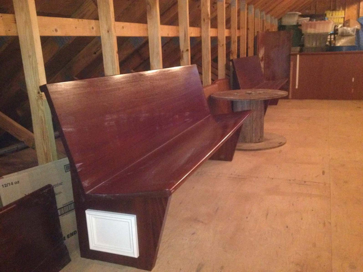 Refinished Church Pews Benches