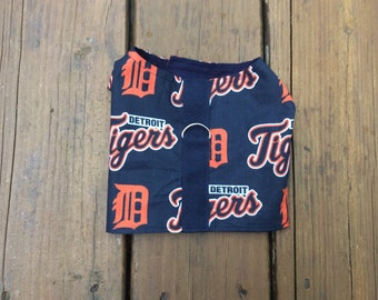 Detroit Tigers Dog Harness-Fabric Dog Harness
