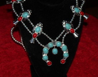 ELVIS PRESLEy style Squash Blossom NECKLACe--- THEy ARe HERE!!!!