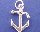 SHIP ANCHOR Charm, Sailor .925 Sterling Silver Charm