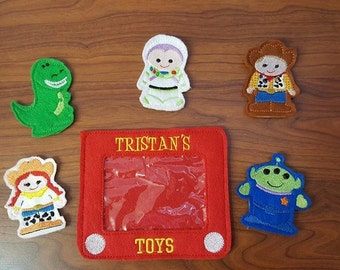 Toy Story Finger Puppet Set