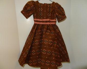 Vintage Handmade Doll Dress
