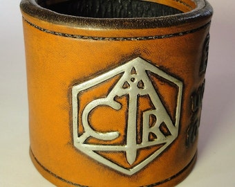 Critical Role Leather Dice cup