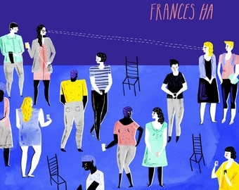 Limited edition Frances Ha art print - A4 or A3