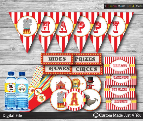 carnival birthday party decorations