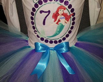 Little Mermaid Birthday Outfit